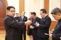 Avec la délégation de haut niveau