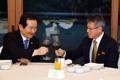 Avec le président de l'ITF