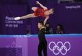 Pareja surcoreana de patinaje artístico