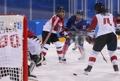 El primer gol coreano en 'hockey'