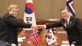 韓国・ノルウェー首脳会談