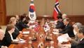 Sommet Corée-Norvège
