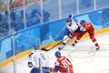 アイスホッケー男子 韓国が先制ゴール