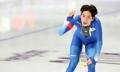 El patinador de velocidad Lee Seung-hoon
