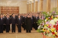 N.K. leader marks anniversary of father's birthday