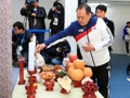 五輪の韓国選手団 現地で旧正月