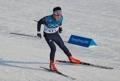 El esquiador de fondo norcoreano Han Chun-gyong