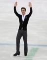 El patinador artístico español Javier Fernández