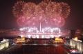北朝鮮で花火大会