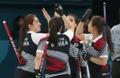 El equipo surcoreano de 'curling'