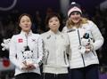 Trois médaillées