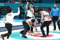 Corea del Sur gana a Italia en 'curling'