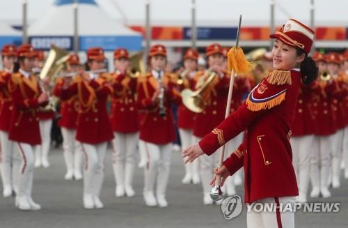 [올림픽] 북 응원단, 23일 인제군민 위한 깜짝 무료 공연 펼쳐(종합)