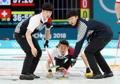 'Curling' entre Corea del Sur y Suiza