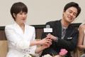 Actress Kim Sun-a and actor Kam Woo-sung