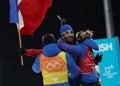 Triple champion olympique