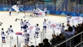 'Hockey' masculino entre Corea del Sur-Finlandia