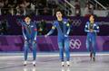 Corea del Sur en las finales de persecución por equipos