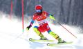 El esquiador alpino norcoreano