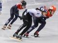 La patinadora surcoreana Shim Suk-hee