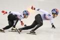 L'argent au 500m hommes de short-track