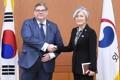 Chef des diplomaties coréenne et finlandaise