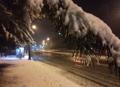 Nieve por todo el país