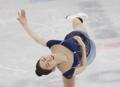 La patinadora artística surcoreana Choi Da-bin