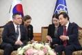 Avec le président de la chambre basse ouzbèke