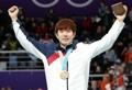 銅メダルに歓喜