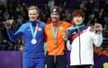 Médaillés du 1.000m de patinage de vitesse