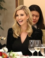 Ivanka Trump cena con Moon Jae-in