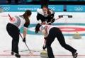 (الأولمبياد) الفريق الكوري الجنوبي للكيرلينغ للسيدات