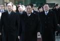 北朝鮮高官代表団が韓国入り