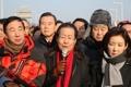 Protesta contra la visita de una delegación norcoreana