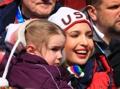 Ivanka Trump avec une petite fille
