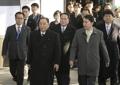 Délégation nord-coréenne en Corée du Sud