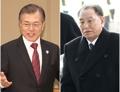 Moon se reúne con el jefe de la delegación de Corea del Norte