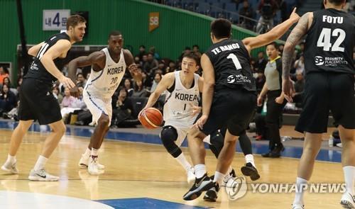 남자농구 대표팀, 6월 일본과 두 차례 평가전
