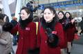 Adiós a las animadoras norcoreanas