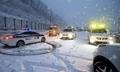 江原道の山間部で大雪 交通に乱れ