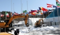 PyeongChang Athletes' Village bustling from snow removal