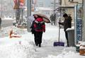 Fuerte nevada en PyeongChang