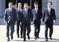 La delegación especial parte a Corea del Norte