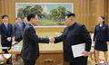 Seoul envoy delivers Moon's message to N.K. leader