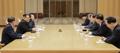 Los enviados de Seúl se reúnen con Kim Jong-un