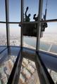 韓国最高層ビルの窓掃除