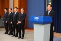 韓国特使団 訪朝結果を発表