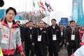 Délégation nord-coréenne à PyeongChang