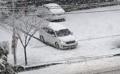 南東部・大邱で大雪
